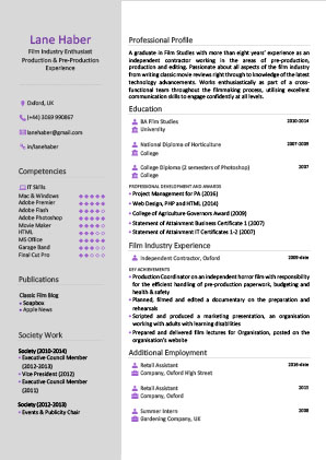 James Innes Group - The Resume Center - United States (US) - CV Resume Example 3